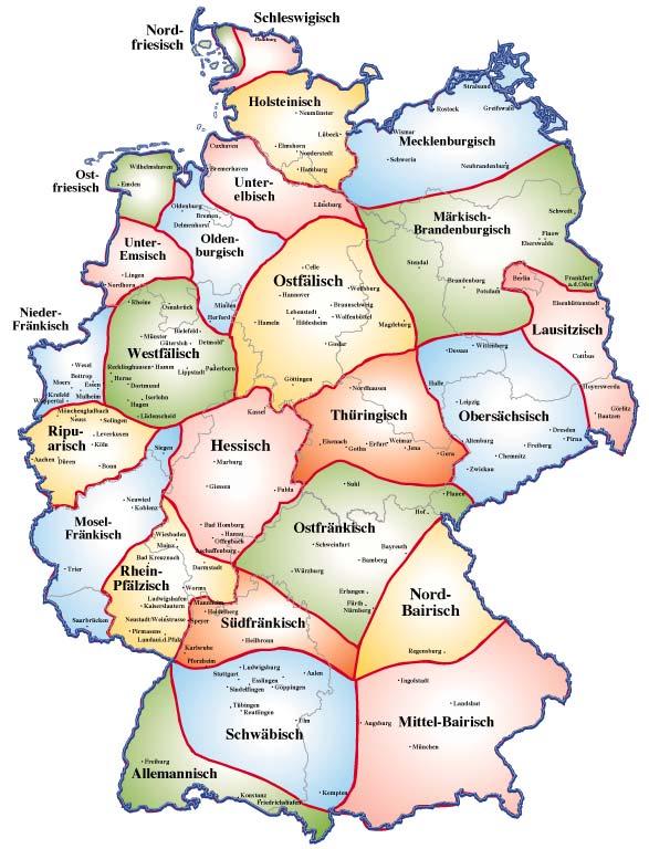 Ganz und zu Extrem Präferenz Dialekte In Deutschland &UM72   Startupjobsfa #UP_19